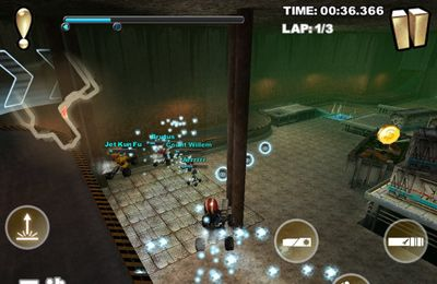 Screenshots vom Spiel Cracking Sands für iPhone, iPad oder iPod.