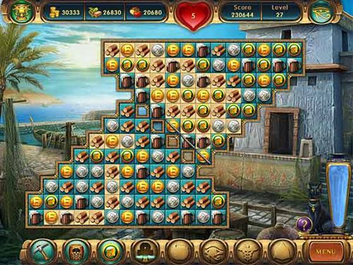 Download Cradle of Egypt iPhone free game.