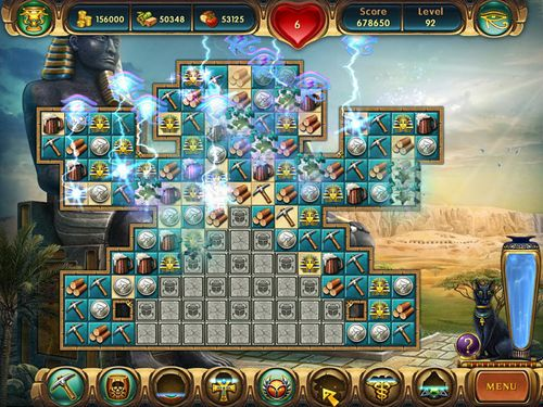 Screenshots of the Cradle of Egypt game for iPhone, iPad or iPod.