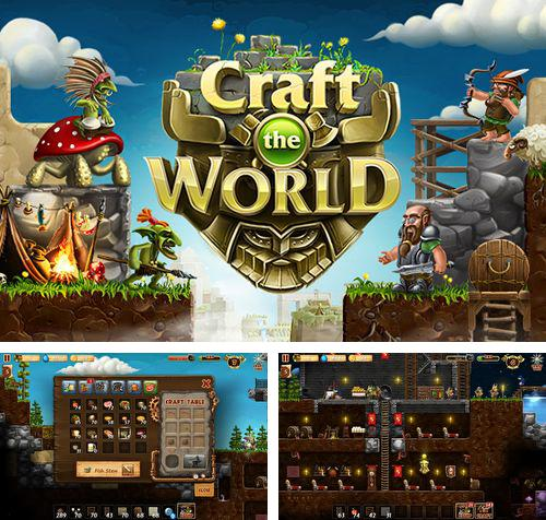 In addition to the game The rhythm of fighters for iPhone, iPad or iPod, you can also download Craft the world for free.
