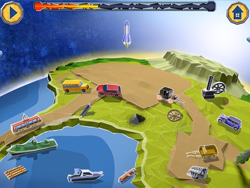 Capturas de pantalla del juego Crafting story para iPhone, iPad o iPod.