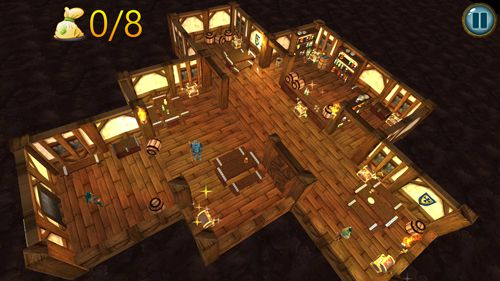 Download Crafty thief 3D iPhone free game.