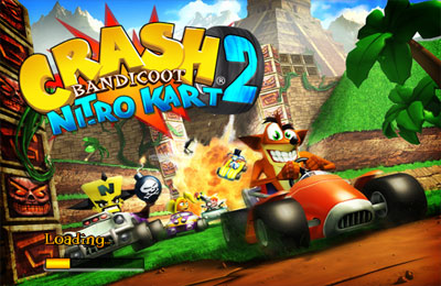 Crash bandicoot kart symbian game. Crash bandicoot kart sis.