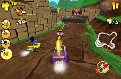 Descarga gratuita de Crash Bandicoot Nitro Kart 2 para iPhone, iPad y iPod.