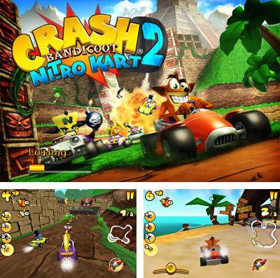 En plus du jeu Espace fractal  pour iPhone, iPad ou iPod, vous pouvez aussi télécharger gratuitement Le Karting Destructeur avec les Bandicoot 2, Crash Bandicoot Nitro Kart 2.