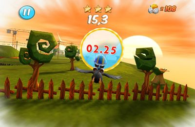 Screenshots of the Crash Birds Islands game for iPhone, iPad or iPod.