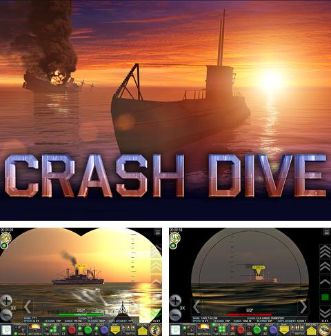 In addition to the game My Om Nom for iPhone, iPad or iPod, you can also download Crash dive for free.