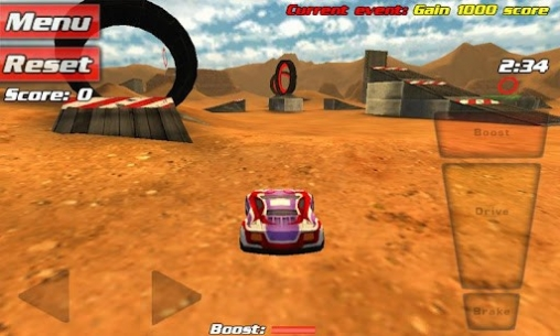 Screenshots of the Crash drive 3D game for iPhone, iPad or iPod.