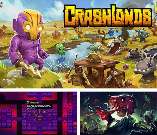 In addition to the game Swamp jump adventure for iPhone, iPad or iPod, you can also download Crashlands for free.