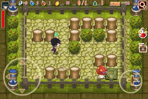 Download Crazy bomber iPhone free game.