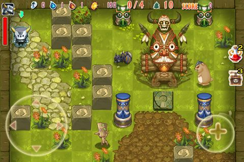 Screenshots do jogo Crazy bomber para iPhone, iPad ou iPod.