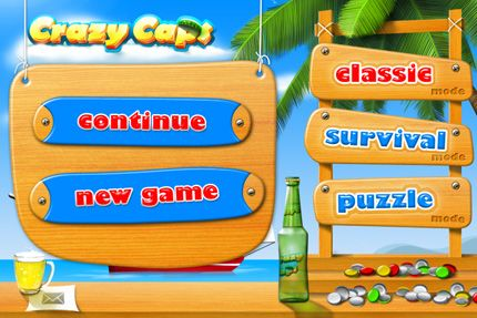 Download Crazy Caps iPhone free game.