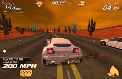 Kostenloser Download von Crazy Cars - Hit The Road für iPhone, iPad und iPod.