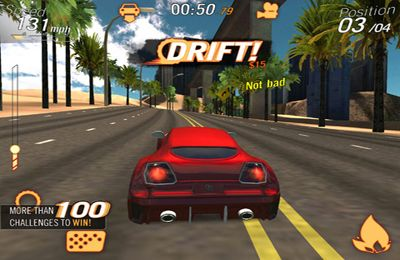 Capturas de pantalla del juego Crazy Cars - Hit The Road para iPhone, iPad o iPod.