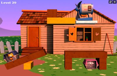 Download Crazy Cats Love iPhone free game.