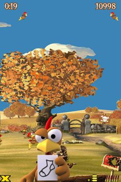 Capturas de pantalla del juego Crazy Chicken Deluxe - Grouse Hunting para iPhone, iPad o iPod.
