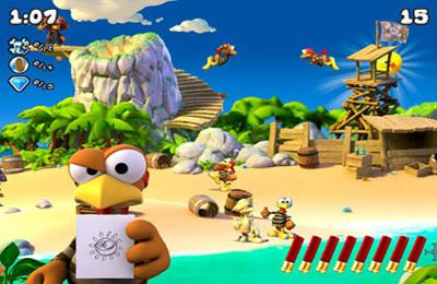 Download Crazy Chicken: Pirates iPhone free game.