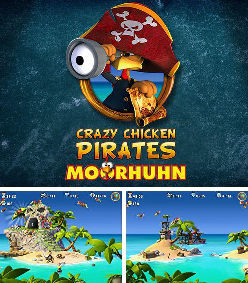 Скачать Crazy chicken pirates: Moorhuhn на iPhone бесплатно