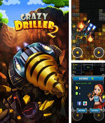 In addition to the game Hugo Troll Race for iPhone, iPad or iPod, you can also download Crazy driller 2 for free.