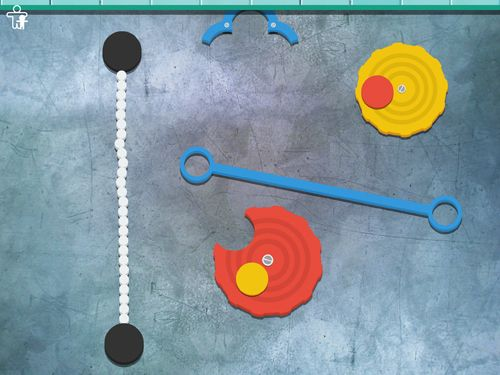 Screenshots of the Crazy gears game for iPhone, iPad or iPod.