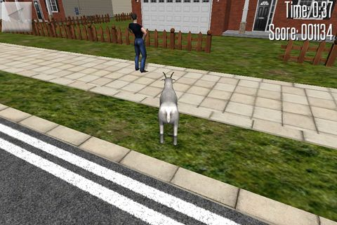 Screenshots of the Crazy goat game for iPhone, iPad or iPod.