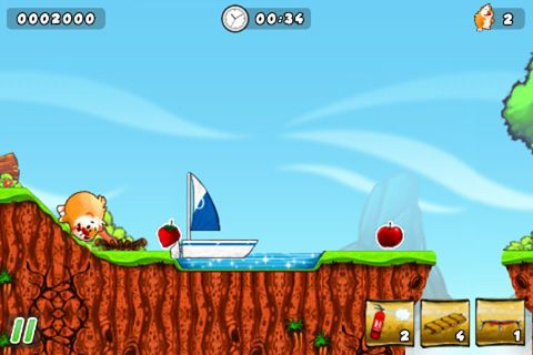 Download Crazy hamster iPhone free game.