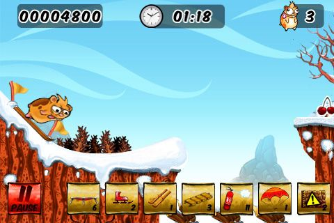 Descarga gratuita de Crazy hamster para iPhone, iPad y iPod.
