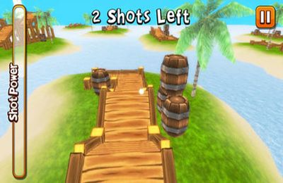 Download Crazy Island Golf! iPhone free game.