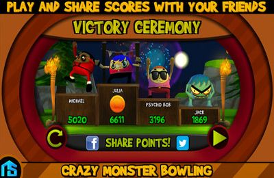 Скачать Crazy Monster Bowling на iPhone бесплатно