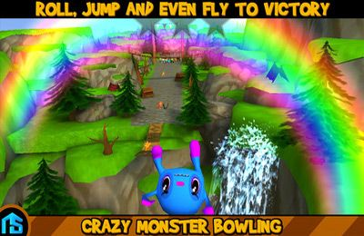 Free Crazy Monster Bowling download for iPhone, iPad and iPod.