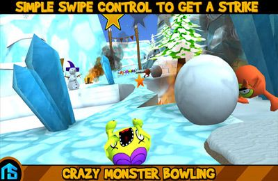 Игра Crazy Monster Bowling для iPhone