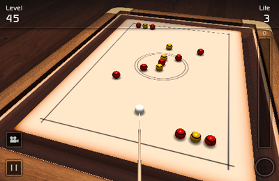 Capturas de pantalla del juego Crazy Pool 3D para iPhone, iPad o iPod.