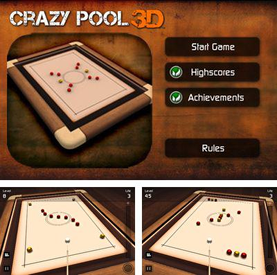 In addition to the game Space disorder for iPhone, iPad or iPod, you can also download Crazy Pool 3D for free.