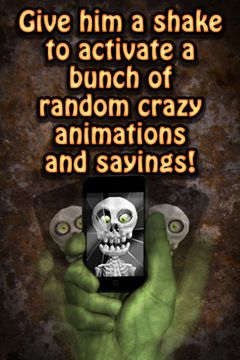 Download Crazy Skeleton iPhone free game.