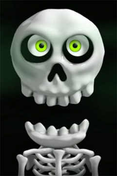 Free Crazy Skeleton download for iPhone, iPad and iPod.