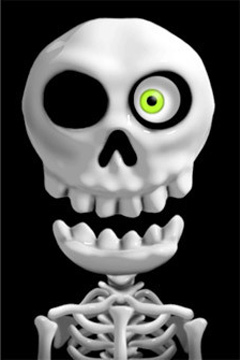 Игра Crazy Skeleton для iPhone