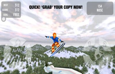 Free Crazy Snowboard download for iPhone, iPad and iPod.