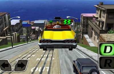 Download Crazy Taxi iPhone free game.