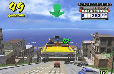 Descarga gratuita de Crazy Taxi para iPhone, iPad y iPod.