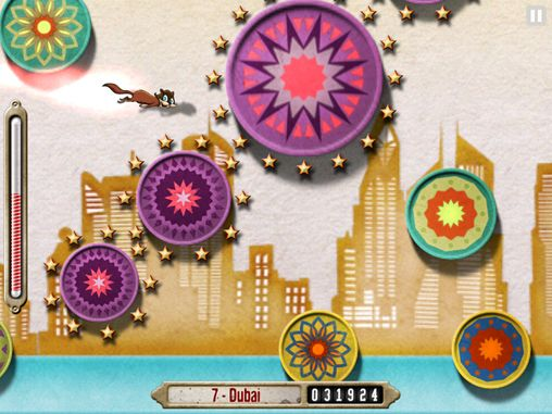 Écrans du jeu Crazy wheel rider pour iPhone, iPad ou iPod.