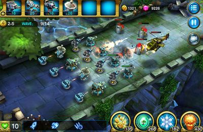 Screenshots of the CrazyLegion game for iPhone, iPad or iPod.