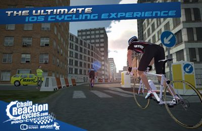 Screenshots of the CRC Pro-Cycling game for iPhone, iPad or iPod.