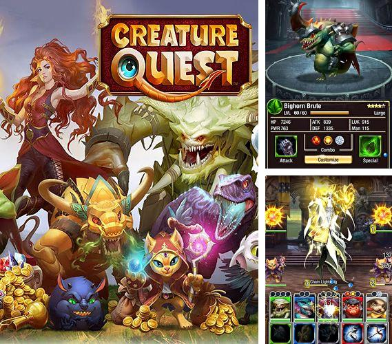 Download Creature quest iPhone free game.