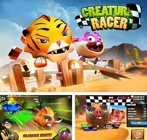 Download Creature racer iPhone free game.