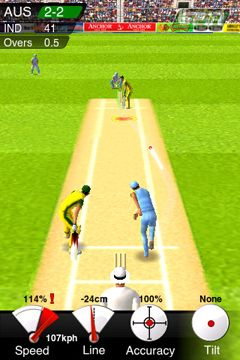 Descarga gratuita de Cricket Game para iPhone, iPad y iPod.