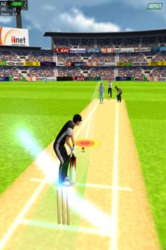 Screenshots do jogo Cricket Game para iPhone, iPad ou iPod.