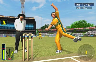 Screenshots of the Cricket WorldCup Fever Deluxe game for iPhone, iPad or iPod.