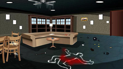 Screenshots of the Criminal chase game for iPhone, iPad or iPod.