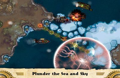 Screenshots of the Crimson: Steam Pirates game for iPhone, iPad or iPod.