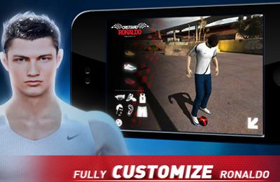 Descarga gratuita de Cristiano Ronaldo Freestyle Soccer para iPhone, iPad y iPod.